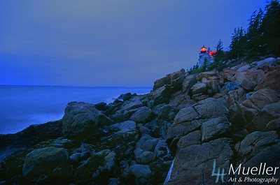 Bass Harbor Head Lighthouse Night