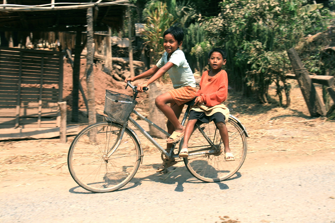 Like I said, kids on bikes smiling at me never gets old.