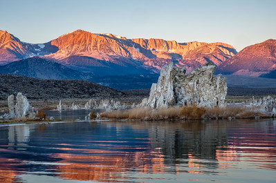 Mono Lake at sunrise.