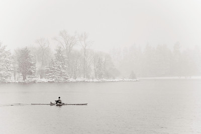 Rower, Stanley Park, Vancouver