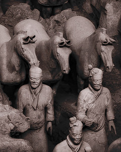 Terracota Warriors - Xian, China