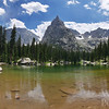 Lone Eagle Peak from Mirror Lake, Indian Peaks Wilderness