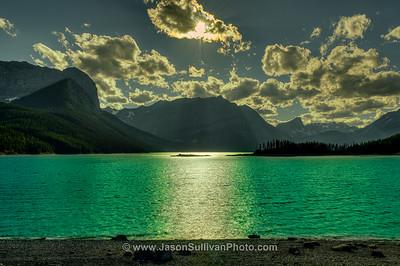 Glowing Lakes