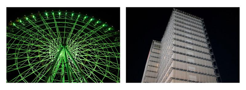Ferris Wheel / Hotel Exterior, Osaka 2019.