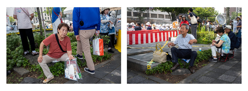 Festival Spectators #1, Kyoto 2019.