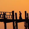 U-Bein bridge, Myanmar