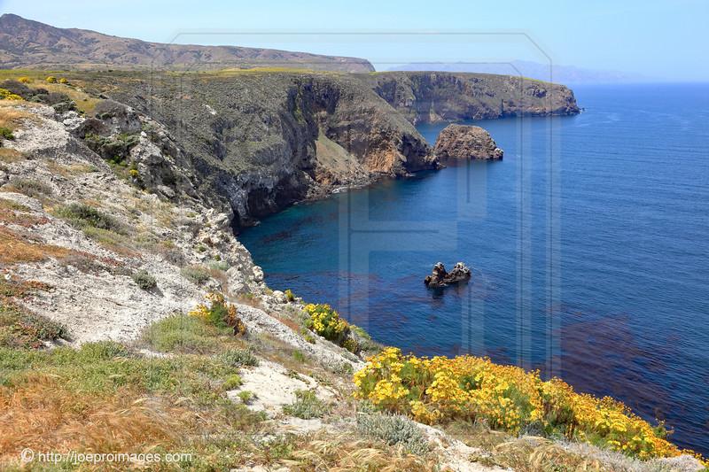 View from Cavern Point, Santa Cruz Island