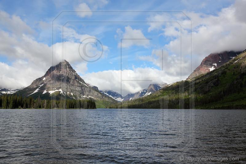 Two Medicine Lake & Rising Wolf Mountain