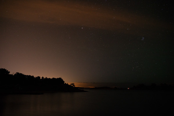 Made from 2 light frames (captured with a SONY camera) by Starry Landscape Stacker 1.6.2.  Algorithm: Median