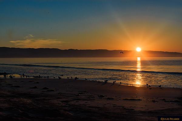 Sunrise over Drake's Bay, Point Reyes National Seashore, CA