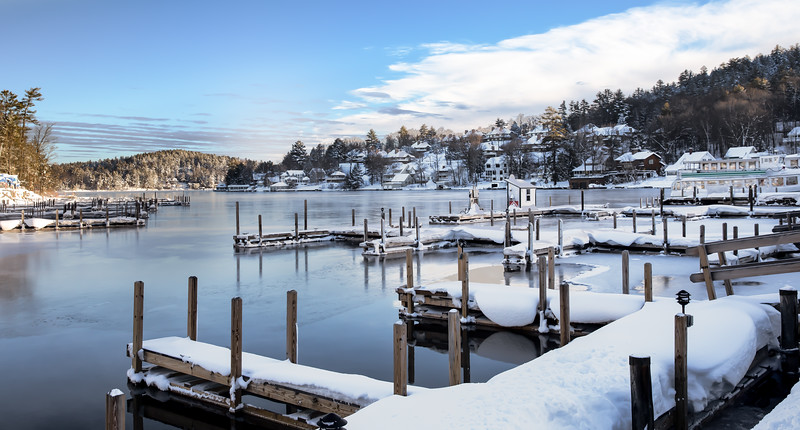 Sunapee Harbor After Nor Easter