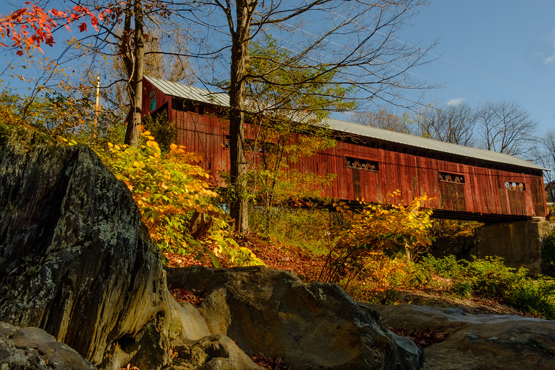 Lower Covered Bridge, Northfield Falls, VT.