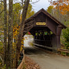 Gold Brook Covered Bridge, Stowe, VT.