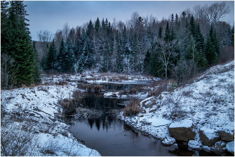 Adirondacks Saranac Lake Tributary 6 December 2016