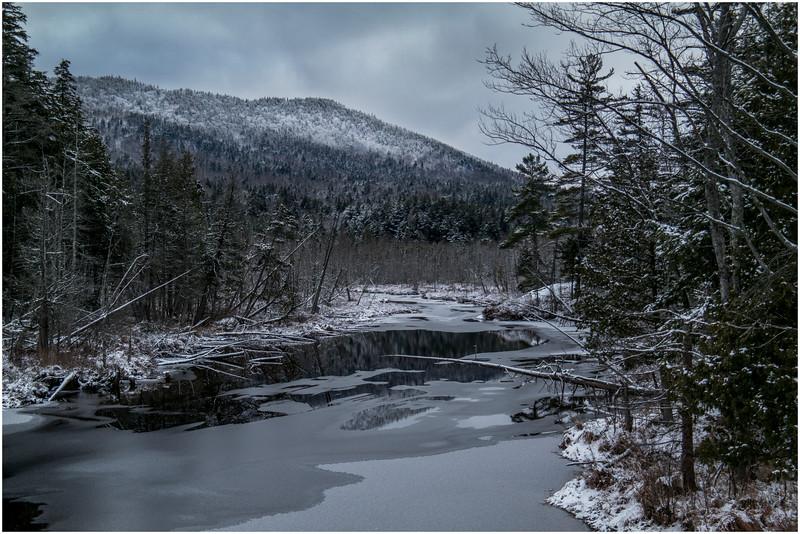 Adirondacks Saranac Lake Pond 2 December 2016