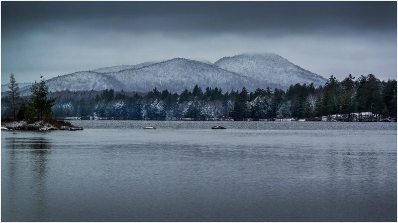 Adirondacks Forked Lake Pilgrim Mountain December 2016