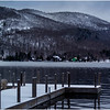 Adirondacks Blue Mountain Lake 1 Prospect Point Dock December 2016