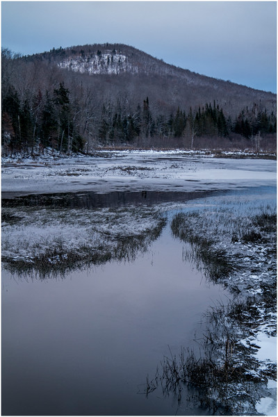 Adirondacks Indian Lake Raquette Brook 1 December 2016