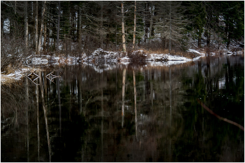 Adirondacks Long Lake Raquette River 1 December 2016