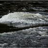 Adirondacks Long Lake Raquette River 4  Buttermilk Falls December 2016