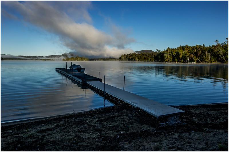 Adirondacks Blue Mountain Lake Morning Light 2 September 25 2016