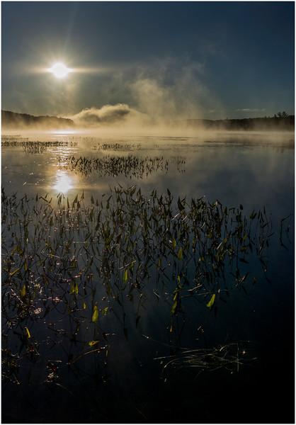 Adirondacks Lake Durant Sunrise 5 September 25 2016