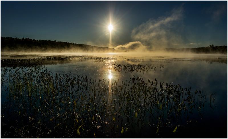 Adirondacks Lake Durant Sunrise 7 September 25 2016