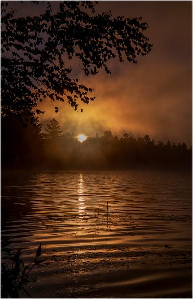 Adirondacks Lake Durant Sunrise 2 September 25 2016