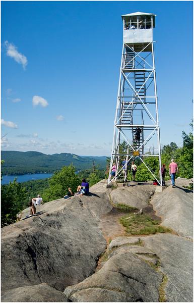 Adirondacks Bald Mountain Firetower 2 July 2016