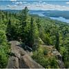 Adirondacks Bald Mountain Fourth Lake from Firetower 3 July 2016
