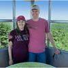 Adirondacks Bald Mountain Jennifer and Todd in Firetower 1 July 2016