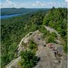 Adirondacks Bald Mountain First Lake from Firetower 2 July 2016