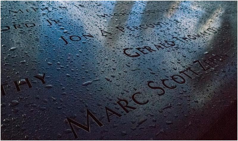 Manhattan NY World Trade Center Names 4 November 2016