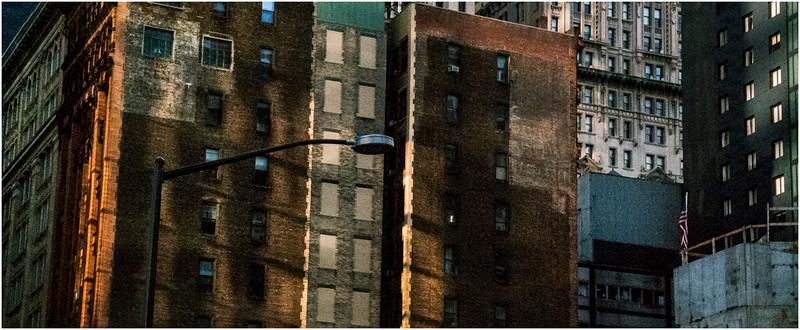 Manhattan NY Downtown Buildingscape 1 November 2016