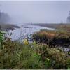 Adirondacks Cary Lake Morning Mist 10 September 2017