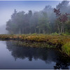 Adirondacks Cary Lake Morning Mist 19 September 2017
