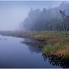 Adirondacks Cary Lake Morning Mist 15 September 2017