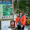 Adirondacks Mt Jo Trail Kim Trailhead 1 February 2017