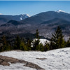 Adirondacks Mt  Marcy, Colden and Algonquin Peak from Mt  Jo 1 February 2017