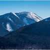 Adirondacks Mt  Colden from Mt  Jo 1 February 2017
