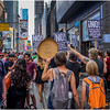 New York City Anti-Trump March 1 August 2017