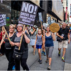 New York City Anti-Trump March 3 August 2017