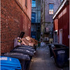 Portland Maine Back Alley 1 March 2017