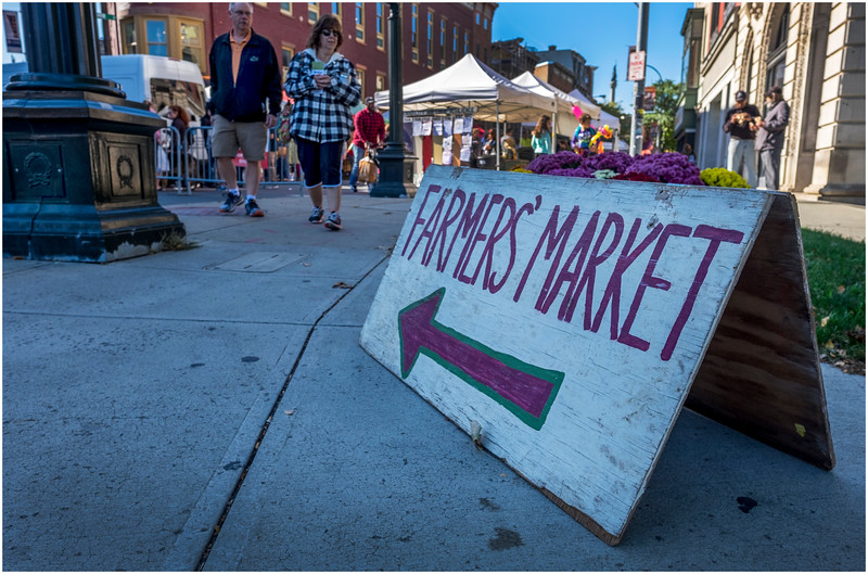 Troy NY Farmers Market 2 October 2017