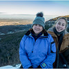 Thatcher Park NY Overlook View NE Kim and Jenna January 2017