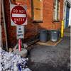 Troy NY Back Alley 8 Do Not Enter January 2017