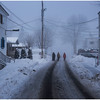 Vercheres Canada Town Street Walkers 1 January 2017