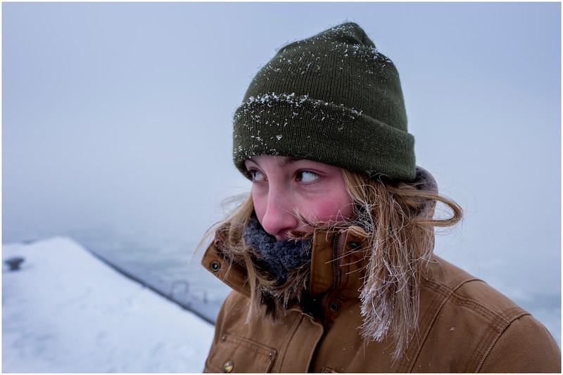Vercheres Canada Daughter Below Zero January 2017