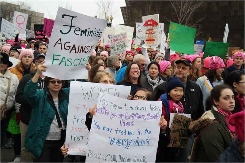 A Washington DC Womens March 192 January 22 2017