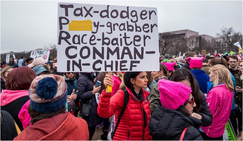 A Washington DC Womens March 306 January 21 2017